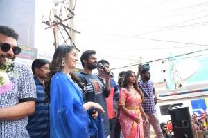 Vaishnav Tej, Krithi Shetty Launches KLM Shopping Mall Gajuwaka Vizag Photos