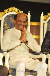 Actor Rajini @ Kochadaiyaan Audio Launch Stills