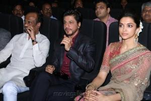 Rajinikanth, Shahrukh Khan, Deepika Padukone @ Kochadaiyaan Audio Launch Stills