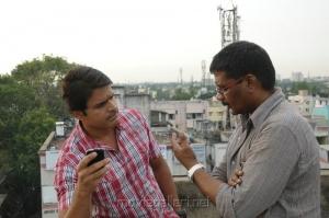 Shaam, Kathir at Kodai Vidumurai Movie On Location Stills