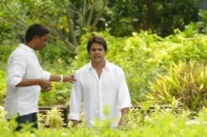 Actor Shaam at Kodai Vidumurai Movie On Location Stills