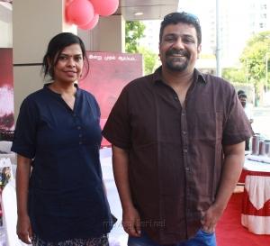 Pushkar, Gayathri @ Kolaigaran Movie Pooja Stills