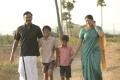 Samuthirakani, Sanghavi in Kolanji Movie Images HD
