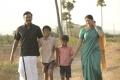 Samuthirakani, Sanghavi in Kolanji Tamil Movie Stills