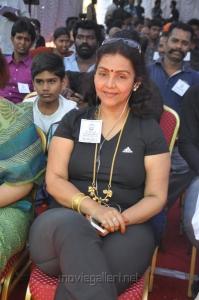 Fathima Babu Fasts in Support of Sri Lankan Tamils Photos