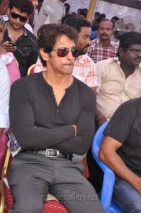Chiyaan Vikram Fasts in Support of Sri Lankan Tamils Photos