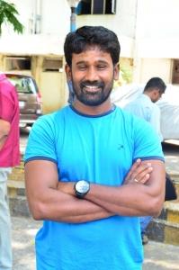 Director M. Muthaiah @ Komban Movie Press Show Stills