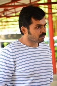 Actor Karthik @ Komban Movie Press Show Stills