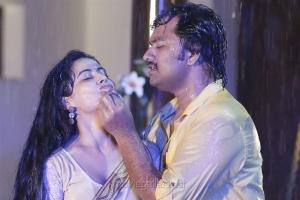 Disha Pandey, Jeeva in Kombu Movie Hot Stills