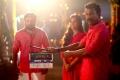 Sasikumar, Madonna Sebastian, Samuthirakani @ Kombu Vacha Singamda Movie Pooja Stills