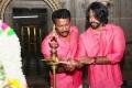 Samuthirakani, Inder Kumar @ Kombu Vacha Singamda Movie Pooja Stills