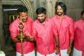 Samuthirakani, Sasikumar, Inder Kumar @ Kombu Vacha Singamda Movie Pooja Stills
