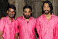 Soori, Sasikumar, Inder KUmar @ Kombu Vacha Singamda Movie Pooja Stills