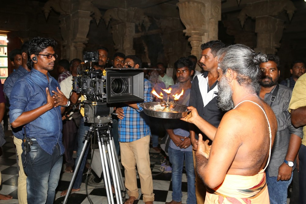 Kombu Vacha Singamda Movie Pooja Stills