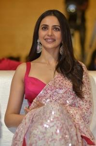 Actress Rakul Preet Singh @ Konda Polam Pre Release Event Stills