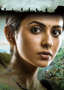 Actress Rakul Preet Singh in Konda Polam Movie Images