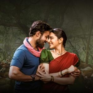 Vaishnav Tej & Rakul Preet Singh in Kondapolam Movie Images