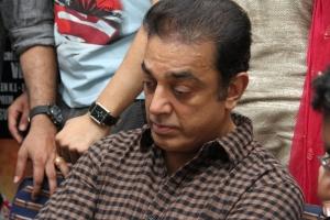 Kamal Hassan at Konjam Coffee Konjam Kadhal Audio Launch Stills