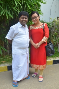 Appukutty, Sharmila Thapa @ Konjam Konjam Movie Audio Launch Stills