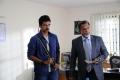 Ashok Selvan, Nassar in Kootathil Oruthan Movie Stills
