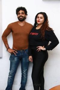 Veerendra Choudhary, Namitha @ Koothan Movie Audio Launch Photos