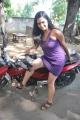 Actress Zahia Hot at Kootu Kalavani Movie Launch Stills