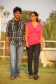 Anil Kalayan, Vinisha Naidu in Kothoka Vintha Movie Stills