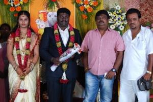 Sakthi Chidambaram @ Comedy Actor Kottai Perumal Son Wedding Reception Photos