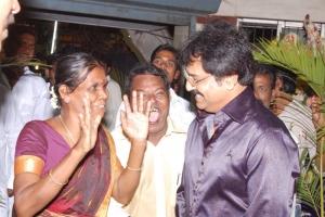 Vivek at Comedy Actor Kottai Perumal Son Wedding Reception Photos