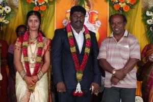 Comedy Actor Kottai Perumal Son Wedding Reception Photos