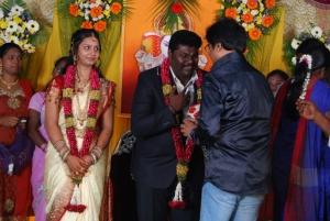 Vivek at Comedy Actor Kottai Perumal Son's Wedding Reception Photos