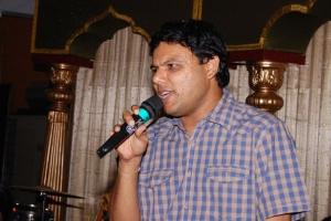 C.Sathya @ Comedy Actor Kottai Perumal Son Wedding Reception Photos