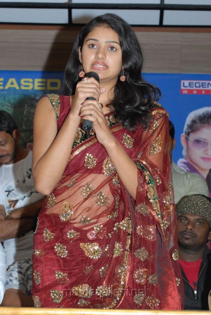 Actress Kousalya Hot Saree Photos at Aa Iddaru Audio Launch