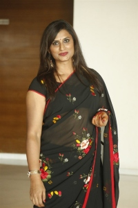 Singer Kousalya in Black Saree Photos