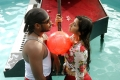 Ashok, Anvitha in Koyambedu Perundhu Nilayam Movie Hot Photos