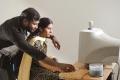 Ashok, Anvitha in Koyambedu Perundhu Nilayam Movie Stills