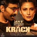 Ravi Teja, Shruti Haasan in Krack Movie Release Posters