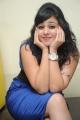 Beautiful Bunny n Cherry Heroine Krithika in Blue Dress
