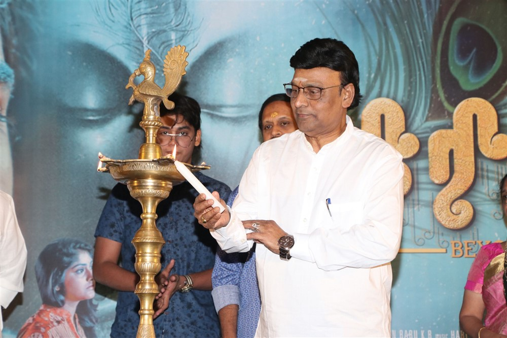 K Bhagyaraj @ Krishnam Movie audio Launch Stills