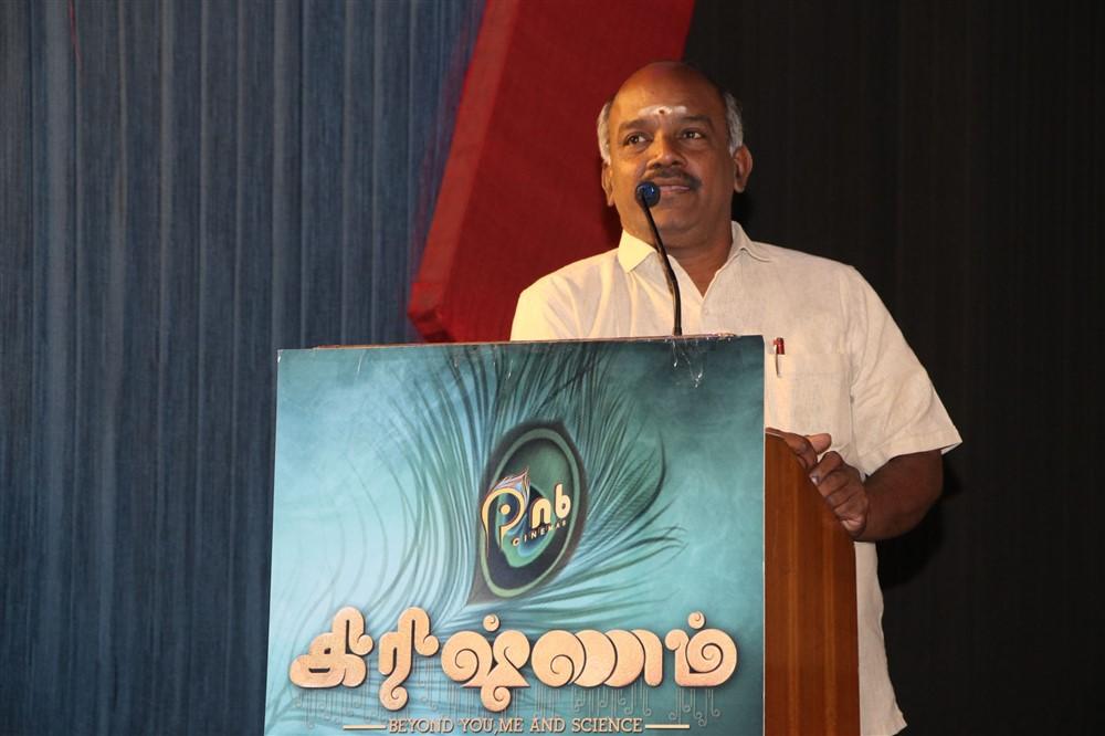 Vijayamurali @ Krishnam Movie audio Launch Stills