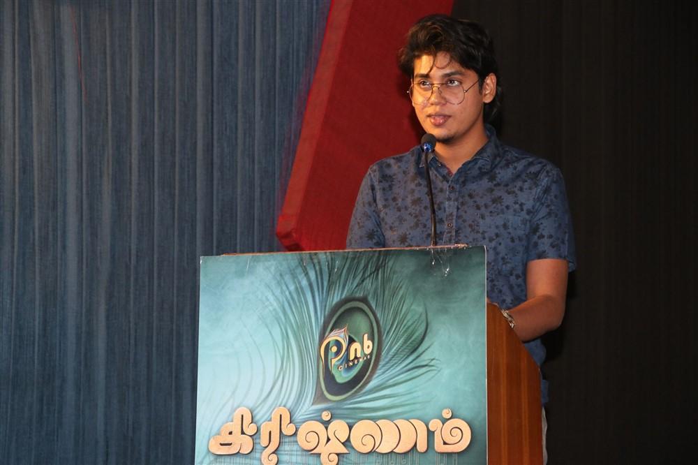 Ajay Krishnan @ Krishnam Movie audio Launch Stills
