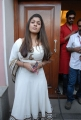 Actress Nayanthara at Krishnam Vande Jagadgurum Success Meet Stills