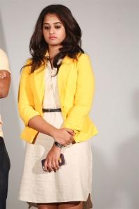 Actress Nanditha Raj @ Krishnamma Kalipindi Iddarini Movie Press Meet Stills
