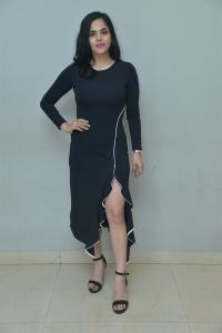 Actress Kriti Garg Pictures @ Neetho Trailer Launch