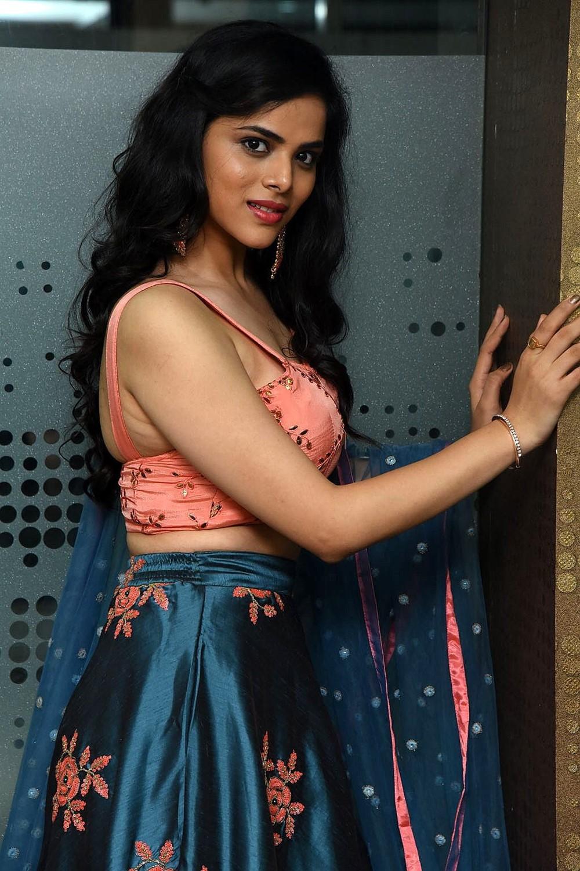 Actress Kriti Garg Stills @ 2 Hours Love Movie Pre Release