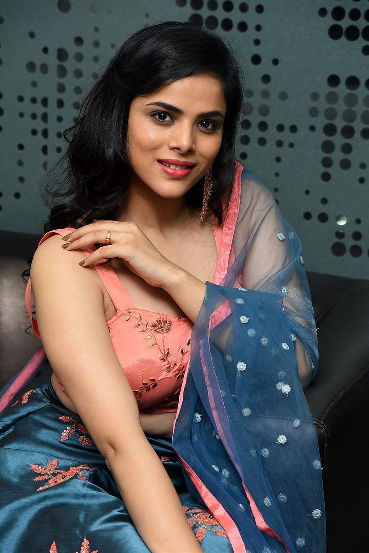Actress Kriti Garg Stills @ 2 Hours Love Pre Release