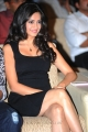 Kriti Kharbanda Hot Photos in Black Dress at Ongole Gitta Audio Release Function