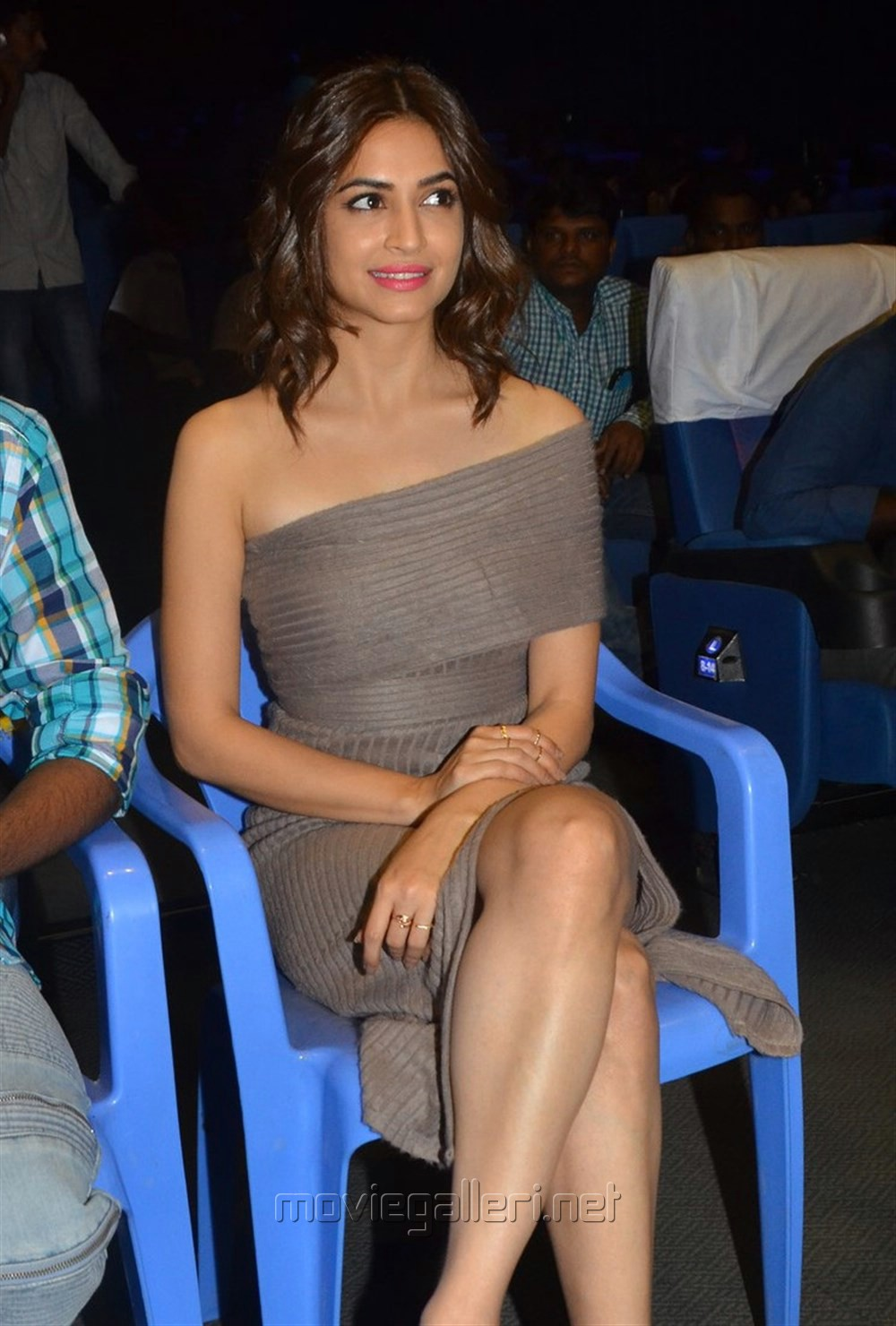 Actress Kriti Kharbanda Hot Pics @ Bruce Lee Movie Press Meet