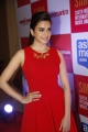 Telugu Actress Kriti Kharbanda Stills in Red Dress