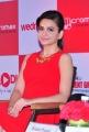 Actress Kriti Kharbanda Hot in Red Skirt Stills